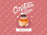 Captain Icon Sketchapp