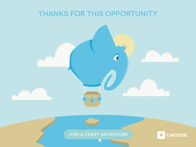 New Career at CartoDB tell stories maps cartodb career adventure opportunity thanks join map cartography geospatial