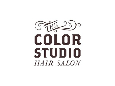 The Color Studio Hair Salon Logo hair salon logo hair salon stacked logo vector design process brand identity brand concept design branding design branding lettering logo