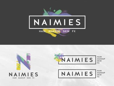 Naimies Logo Variations