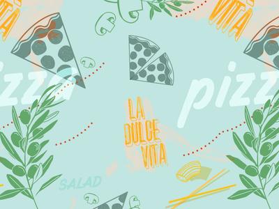 Peri Brothers Pizza Pattern