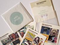 Kiki Bakowski Resume Branding Leave Behind Minifolio