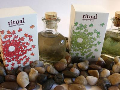 Ritual Perfume Package Design