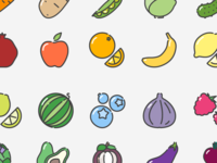 """Fruits-n-vegetables"" iconset"