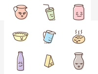 Icons (Kruzhka&Vatruska brand)