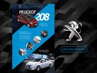 Peugeot 208 Landing Page - Redesign