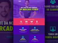 Landing Page - Gonna Shape (Personal Trainer)
