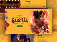 Hotsite - Gabriela The Musical