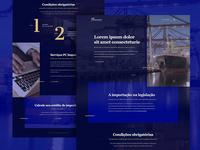 Landing Page - Correa Porto