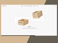 Wood maker landing page