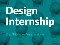 Visual Design Internship in Amsterdam