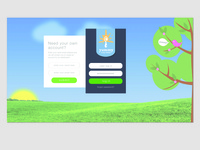 UI / UX Login Screen
