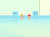 Let's swim together