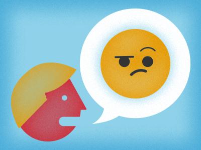 Feeling Skeptical? illustration emoticon face icon