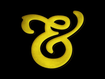 Ampersand - WIP ampersand and what pen tool