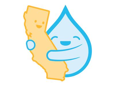 Reunited and feels so good! california rain drought weather hugs