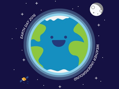 Earth Day 2016 2016 atmosphere water space blue green captain planet moon satellite planet earth