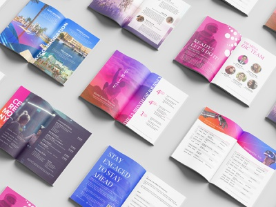 Colorfull Brochure vector design flyers brochures company profile