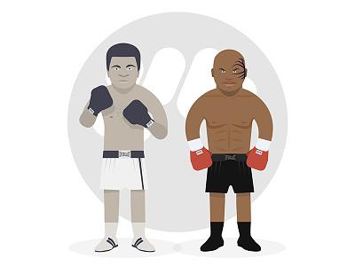 Ali Tyson miketyson ali mpparea charadesign illustration