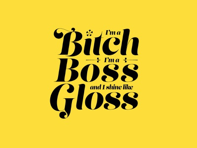 Boss B*tch - Doja Cat doja cat type art typogaphy typedesign type