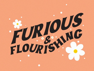 You Can Be Both lettering art lettering flourishing furious