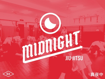 Midnight Jiu-Jitsu midnight jiujitsu branding