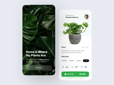 Plants Shop popular design app ui ui ux shop app design app ecommerce design ecommerce app ecommerce plants plants app ecommerce shop online shopping plant shop plant online store online shop ui design ui ux