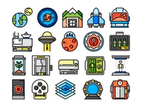 Science Fiction icons
