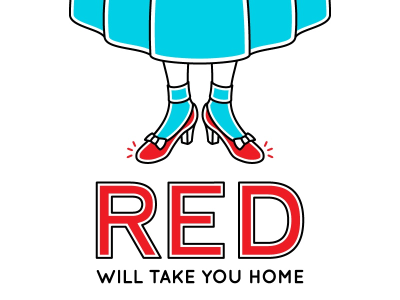 Red ribbon femenine dress legs typography oz the wizard of oz reanult red shoes dorothy