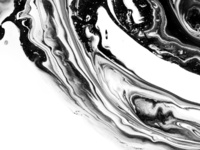 Ink marble