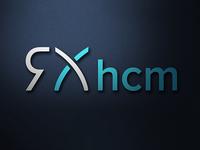 RxHcm Logo Design