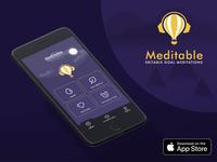 Meditable - Editable Goal Meditations
