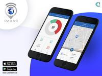 Radar Vehicle Tracking App