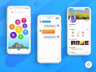 Meetup App android meetup app meetups design ux ui
