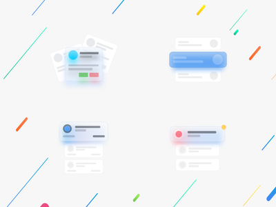 Custom Card Layouts dribbble uiux creative android ios card design cards design ux ui