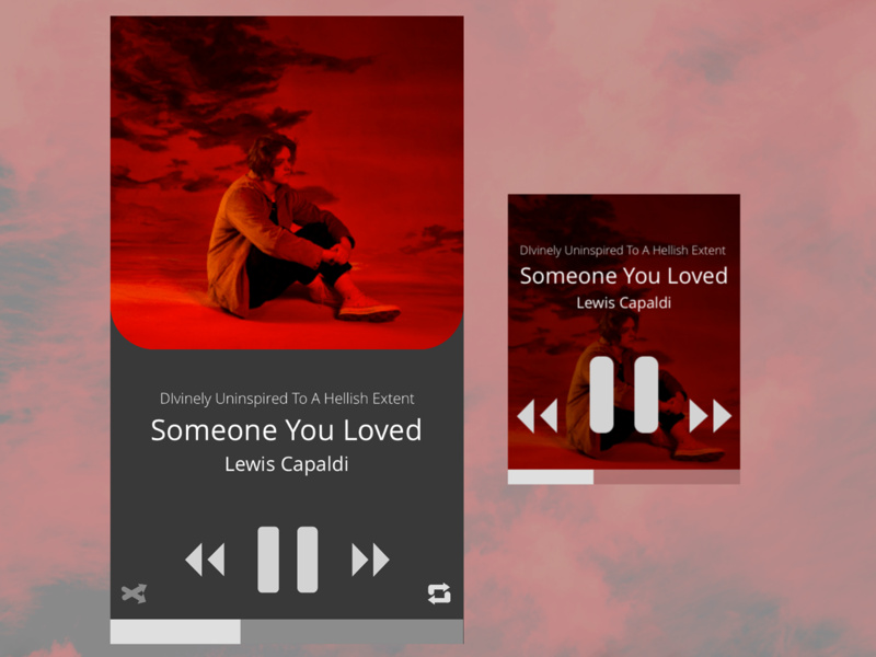 Day 009 - Music Player smartphone mobile small apple watch smartwatch watch design ux ui mobile first player music music player dailyui
