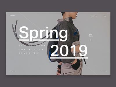 Ender Fashion Store fashion landing web design brand web ui ux design