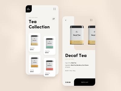 Tea Ecommerce