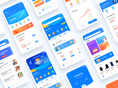 Mobile Internet digital banking APP