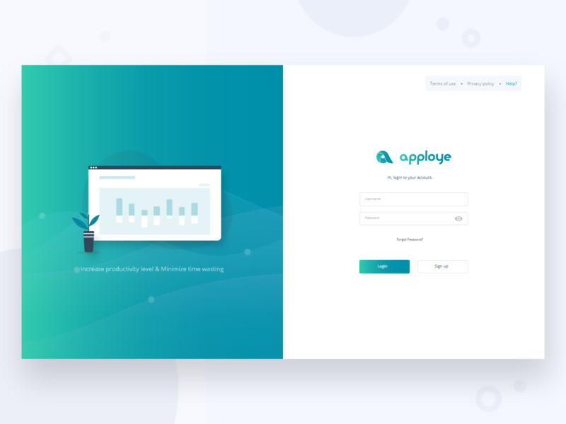 Sign In - Web App saas platform product design account form design trend 2020 ux ui web art sign in vector login illustraion form interface clean design ui design app