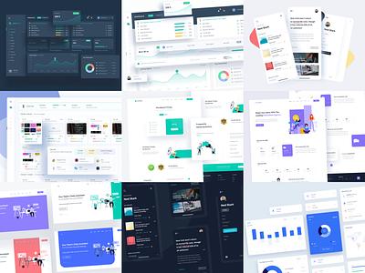 The best nine of 2020 🔥 branding typography best shot web mobile app ux design best of 2020 3d illustration minimal illustration vector product design web design clean interface design ui design ui app