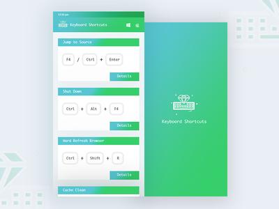 Keyboard Shortcut App