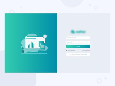 Login Page - Web App