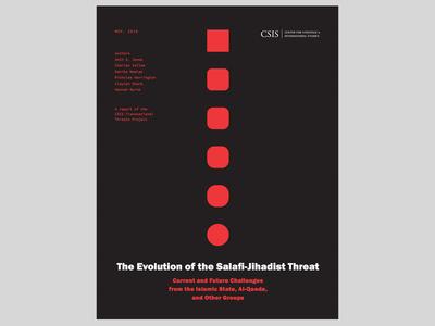 Report cover: The Evolution of the Salafi-Jihadist Threat
