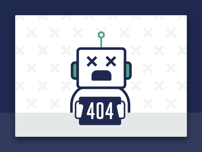 404 visual design illustration