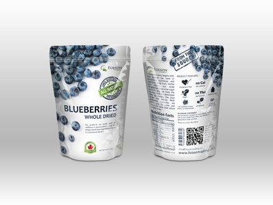 Foison dried Bluberries