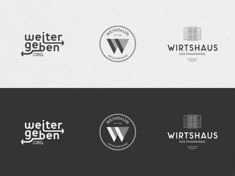 Brandings corporate branding typografie wine restaurant branding logo design vector illustrator