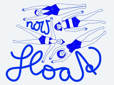 Illustration Float Now