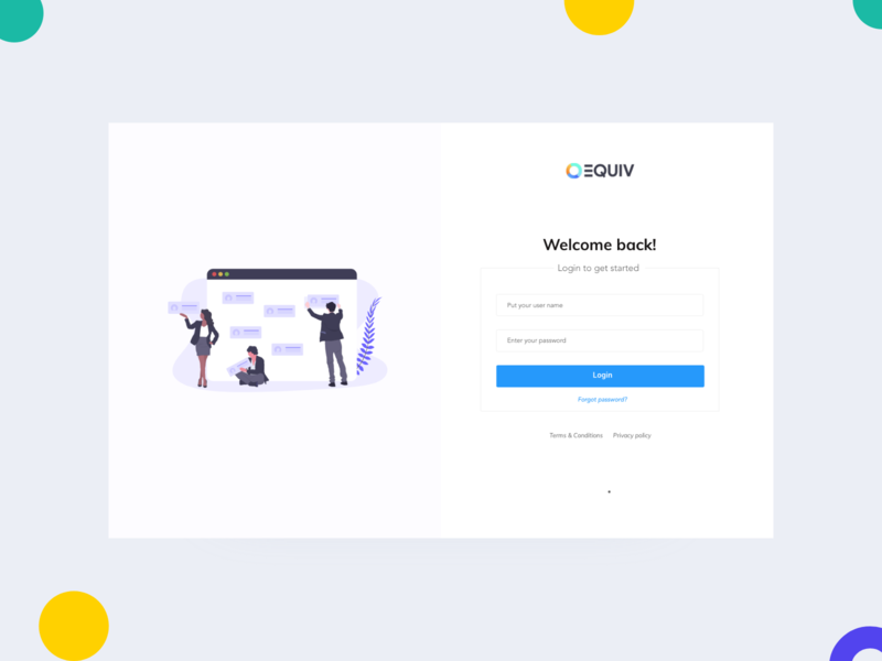 Diversity Login Page ui branding job board minimal job portal diversity signin login screen login sign in