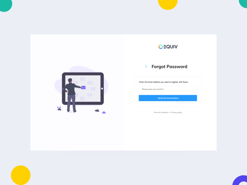 Forgot Password Page font email design illustration art concept web job portal clean website webdeisgn website concept webdesign job board diversity ui minimal email receipt password password reset forgot forgot password